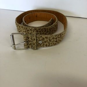 Accessories - Furry leopard belt 4/$20